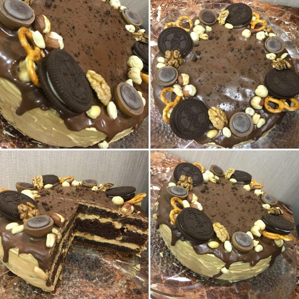 Торт Сникерс рецепт с фото пошагово 44