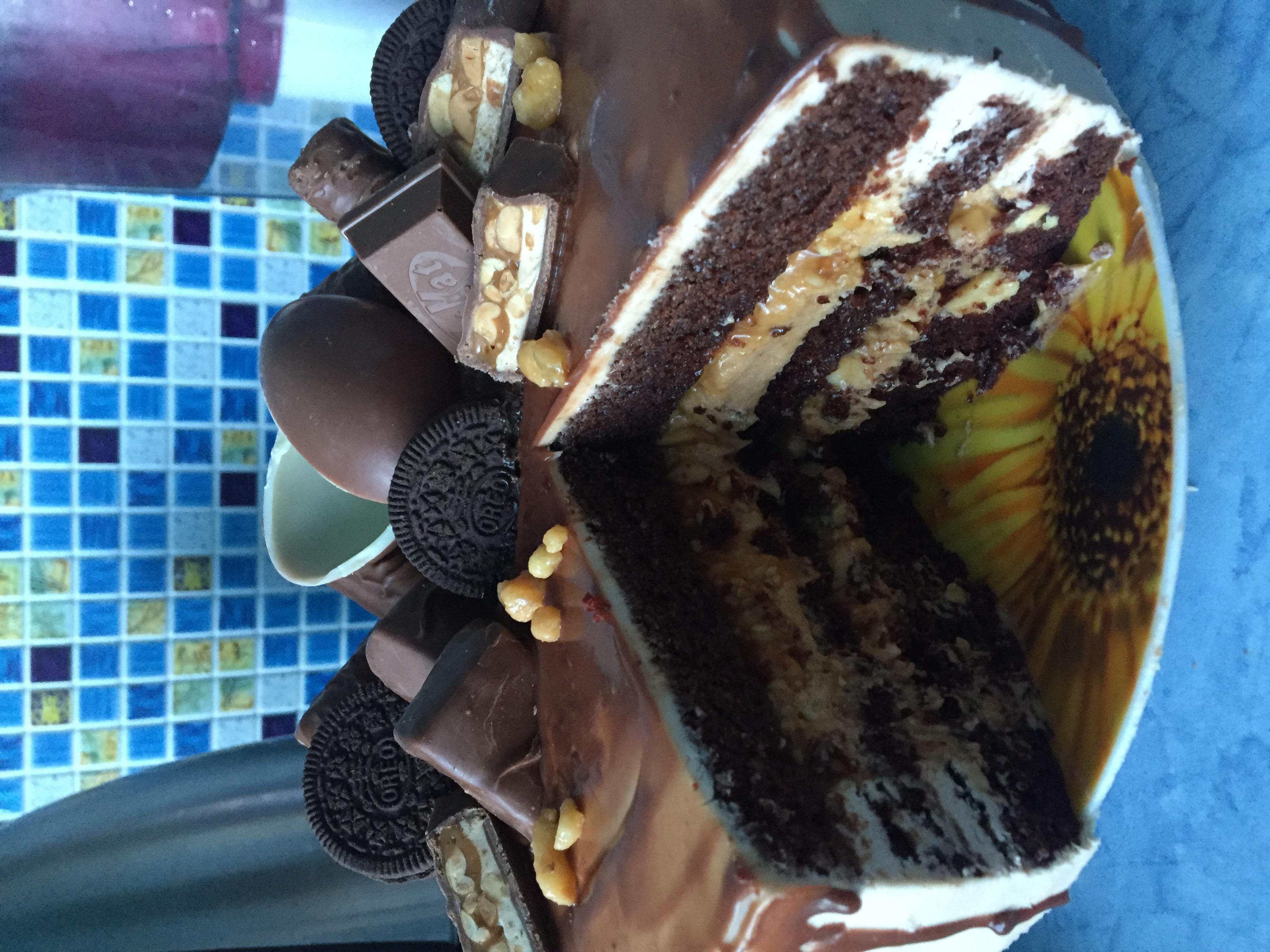 Торт Сникерс рецепт с фото пошагово 175