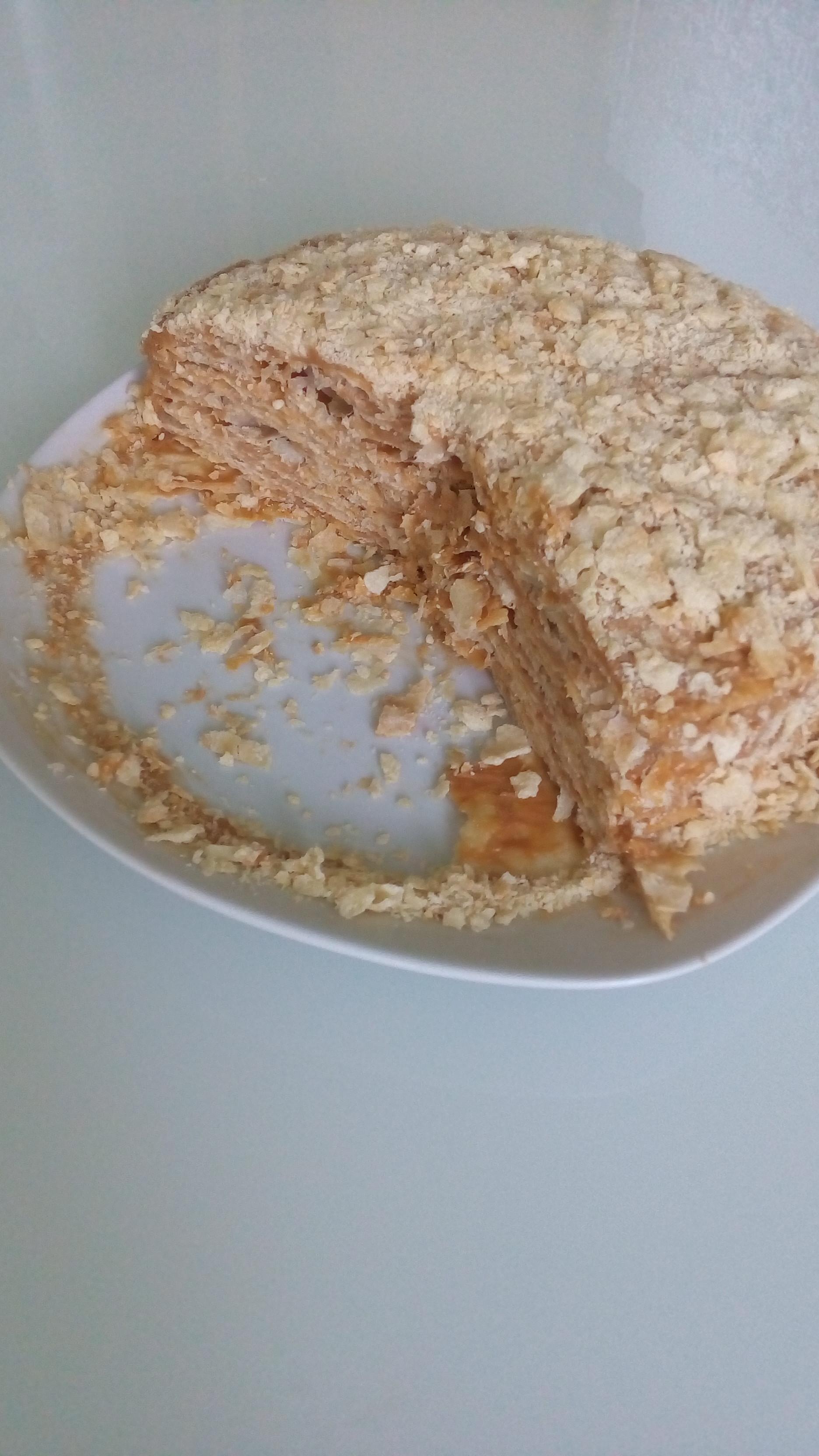 Рецепт торта Аленка пошаговый с фото Вкусно ем Домашняя кулинария