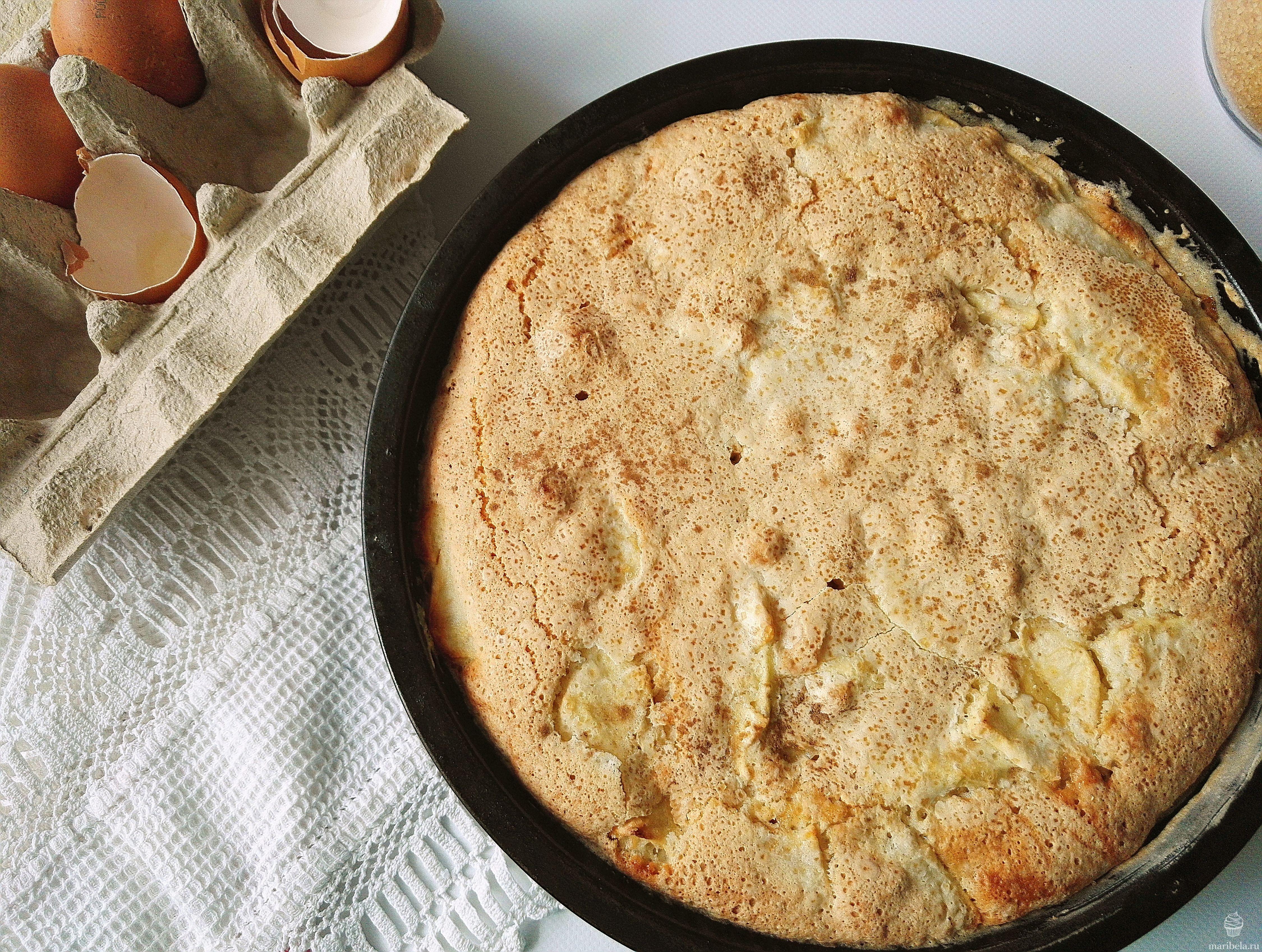 Нежный пирог с яблоками рецепт пошагово в духовке