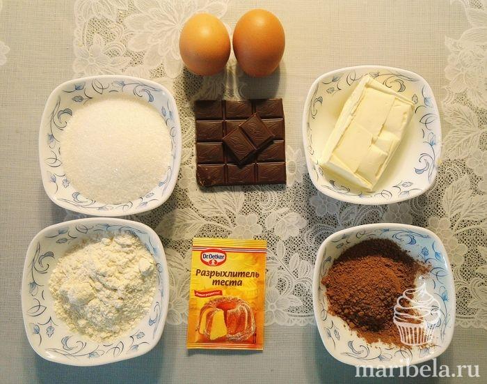 рецепт капкейков в домашних условиях пошагово с фото