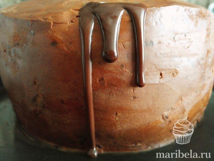 Заливка для торта из шоколада