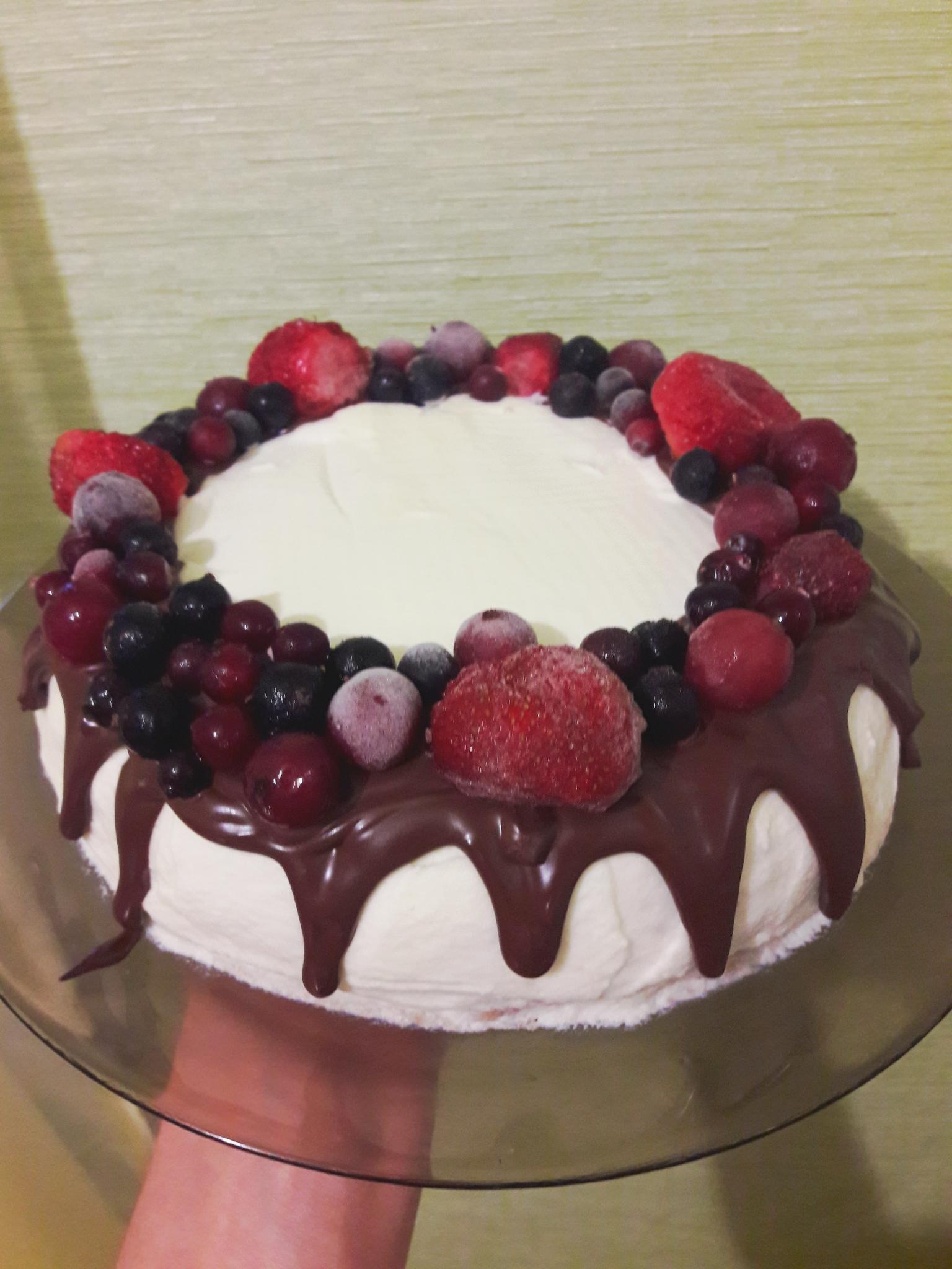 Блестящая глазурь для торта рецепт пошагово