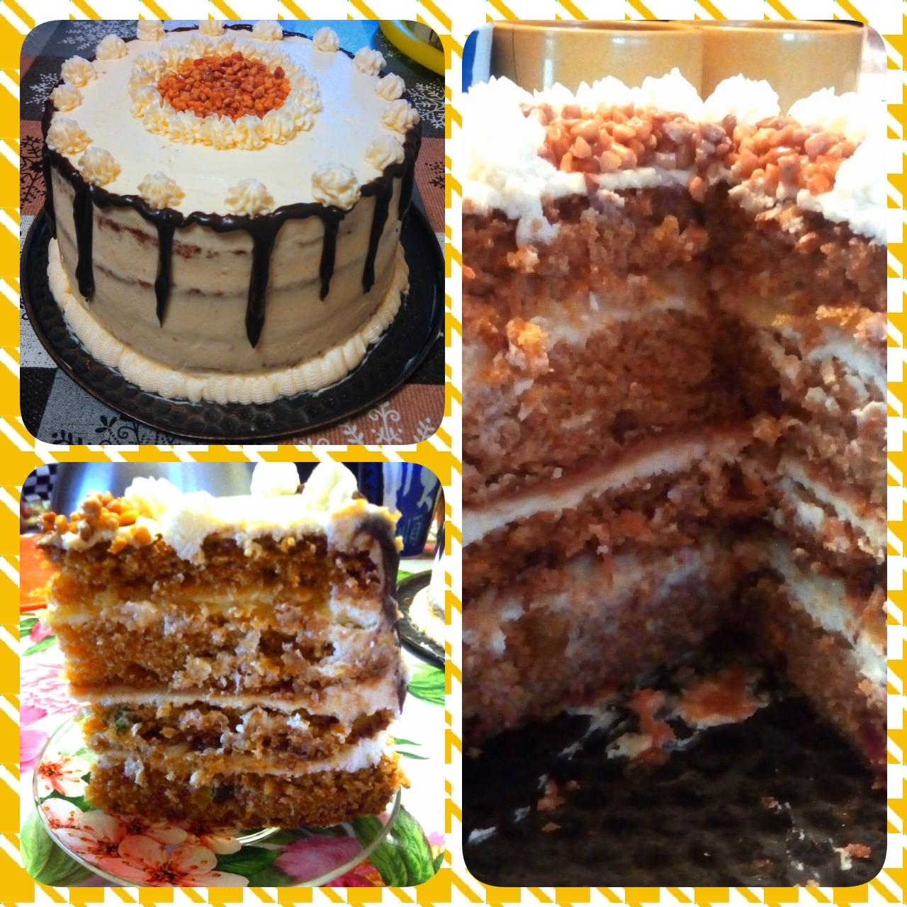Торт для детей с творожным кремом рецепт